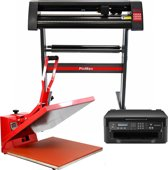 PixMax Sublimatie Set - Transferpers 50cm - Snijplotter (Windows) - Printer