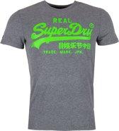 Superdry T-shirt Logo Grijs (M10156YU - 14Q)