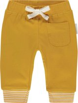 Noppies Unisex Broek relaxed fit Quaqua - Mineral Yellow - Maat 80