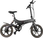 Bohlt X160 BL - Elektrische fiets - Elektrische vouwfiets - Magnesium - Schijfremmen - Achtervering - LG accu
