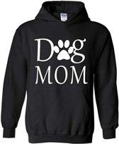 Hoodie sweater   Dog Mom   Maat Medium