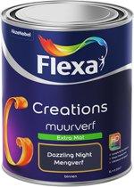 Flexa Creations Muurverf - Extra Mat - Dazzling Night - 1 liter
