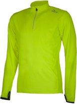Rogelli Campton 2.0 Longsleeve  Sportshirt performance - Maat L  - Mannen - geel