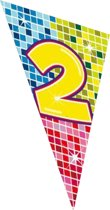 Megavlag Birthday Blocks 2 90x150cm