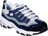 Skechers D'Lites Sure Thing Dames Sneakers - Blauw - Maat 37