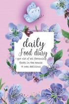 Daily Food Diary: Breakfast lunch dinner snacks - I got rid of all fattening foods in the house: It was delicious - Fill-in-the-blanks J