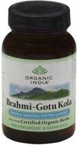 Biologische Brahmi-Gotu Kola (90 Vega Capsules) - Organic India