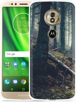 Moto G6 Play hoesje Dark Forest
