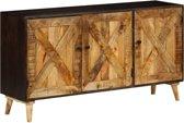 vidaXL Dressoir 140x35x75 cm massief mangohout