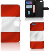 Apple iPhone 7 Plus   8 Plus Bookstyle Case Oostenrijk