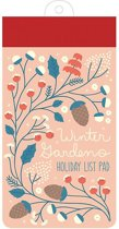 Winter Gardens List Pad