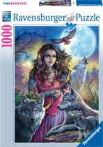 Ravensburger puzzel Beschermvrouw de wolven - Legpuzzel - 1000 stukjes