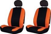 Race Sport Stoelhoezenset Road Uni Polyester Zwart/oranje 4-delig