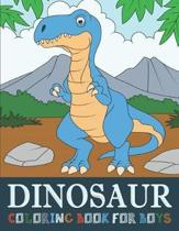 Dinosaur Coloring Book for Boys