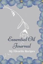 Essential Oil Recipe Journal - Special Blends & Favorite Recipes - 6'' x 9'' 100 pages Blank Notebook Organizer Book 13
