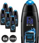 Fa Perfect Wave - 6x 250 ml - Voordeelverpakking - Douchegel