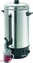 Bartscher Heetwater dispenser 10 Liter | Edelstaal/Kunststof | 50.5(h) x 21,3 Ø cm
