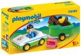 PLAYMOBIL Wagen met paardentrailer - 70181