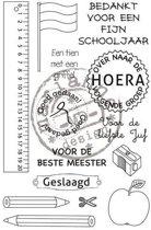 Marianne Design Stempel School stempel - Nederlands  CS0909