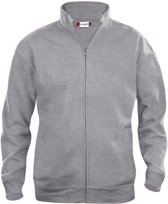 Clique - Sweatshirt zonder capuchon - Unisex - Maat XXXL - Grijs
