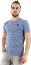 Jack & Jones Generation T-shirt regular fit korte mouw blauw, maat XXL