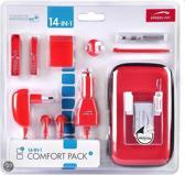 Speedlink 14-in-1 Accessoirepakket Rood Dsi