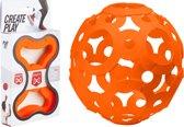 FOOOTY Reis Voetbal Oranje - Creëer je eigen Bal voor Binnen en Buiten