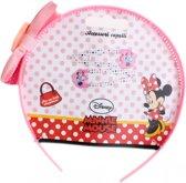Disney Diadeem Met Speldjes Minnie Mouse 3-delig Roze