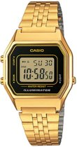 Casio Collection LA680WEGA-1ER - Horloge - Staal - Goudkleurig - Ø 30 mm