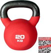 Gymstick Pro Neopreen - Kettlebell  - 20 kg - Met trainingsvideo's