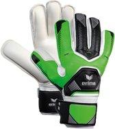 Erima Tec Lite Match Keepershandschoenen Zwart/groen Maat 6