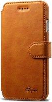 Mobiq - Premium Lederen iPhone 8 Plus/7 Plus Wallet