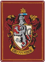 Harry Potter Gryffindor Crest Small Tin Sign