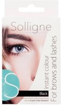 Solligne Instant Colour - Black - 6 ml - Wenkbrauw- en wimperverf