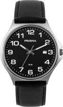 Prisma Heren Edelstaal 5 ATM horloge P.1686