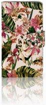 HTC Desire 310 Hoesje Flowers