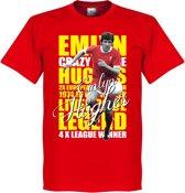 Emlyn Hughes Legend T-Shirt - XL