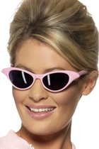 Smiffy Cat Eye - Zonnebril - Roze