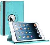 Ipad Air 2 hoes 360 graden draaibaar licht blauw