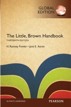 Boek cover The Little, Brown Handbook, Global Edition van Jane E. Aaron (Paperback)