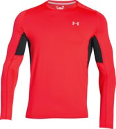 Under Armour UA Coolswitch Run LS - Sportshirt - Heren - Maat XS - Rood