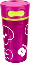 Fruitfriends Drinkbeker Push - Kunststof - 300 ml - Pink