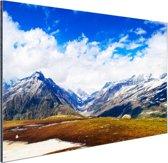 Himalaya in India Aluminium 90x60 cm - Foto print op Aluminium (metaal wanddecoratie)