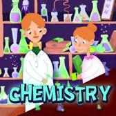 Chemistry: Book about chemistry for children from 6 to 10 years old with beautiful illustrations by Holz books.