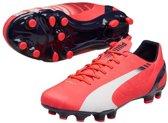 Puma EvoSPEED 4.3 FG  Voetbalschoenen - Maat 42.5 - Mannen - roze/blauw/wit