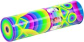 Caleidoscoop: CALEIDOSCOOP met MUZIEK H21xdiam.6cm, metaal