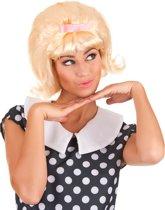 Blonde Starlet retro pruik voor vrouwen - Verkleedpruik