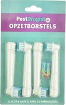Universele Opzetborstels geschikt voor Oral-B 4 stuks - Opzetborstels passend op Oral-B