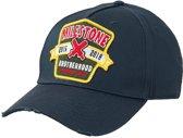 Milestone Relics Patched Brotherhood Baseball Cap – Blue
