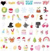 A Little Lovely Company - Letters set Let's Celebrat voor de Lightbox - Set van 56 stuks